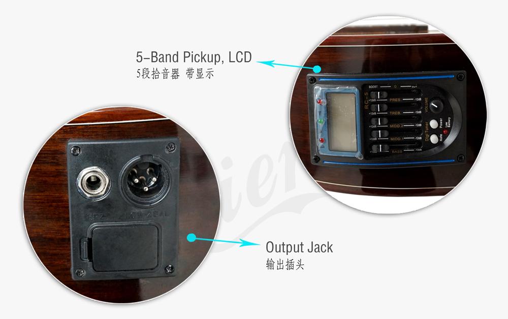 aiersi brand electric classical guitar (4)
