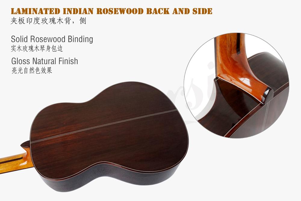 aiersi brand electric classical guitar (8)