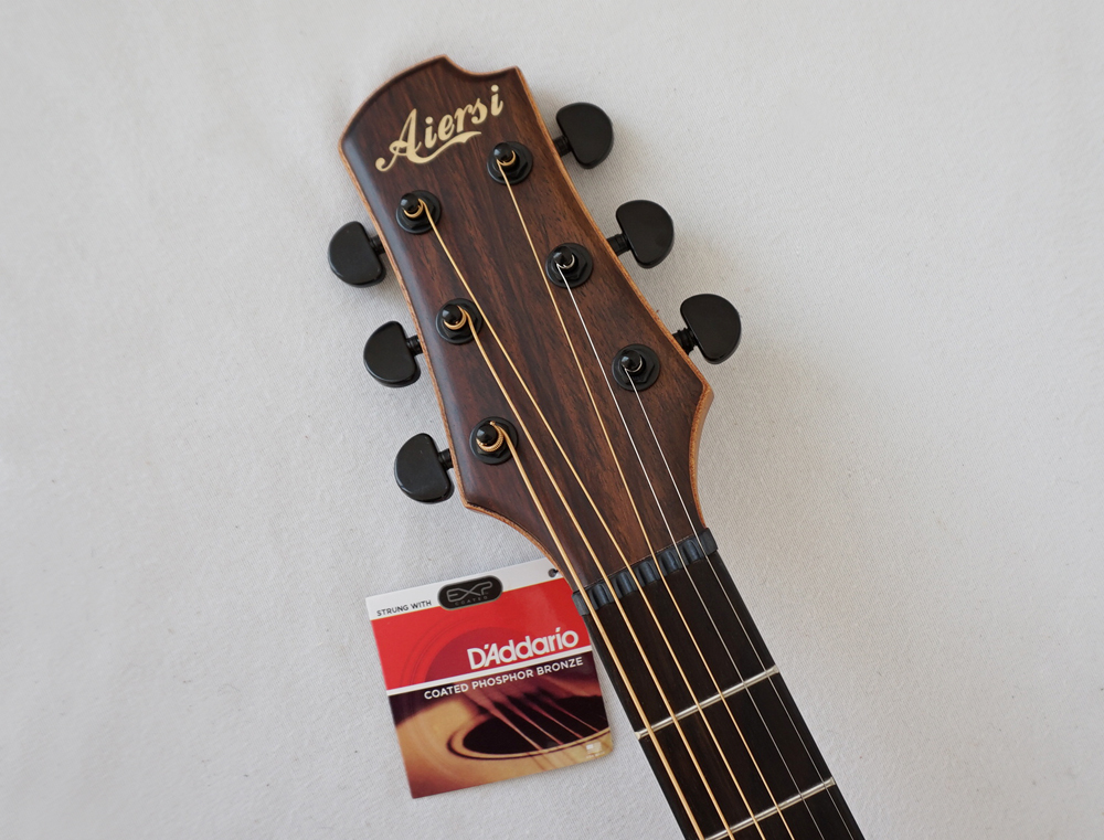 aiersi brand handmade 40 inch solid top acoustic guitar with zebrawood b s sg02sz 40 aiersi. Black Bedroom Furniture Sets. Home Design Ideas